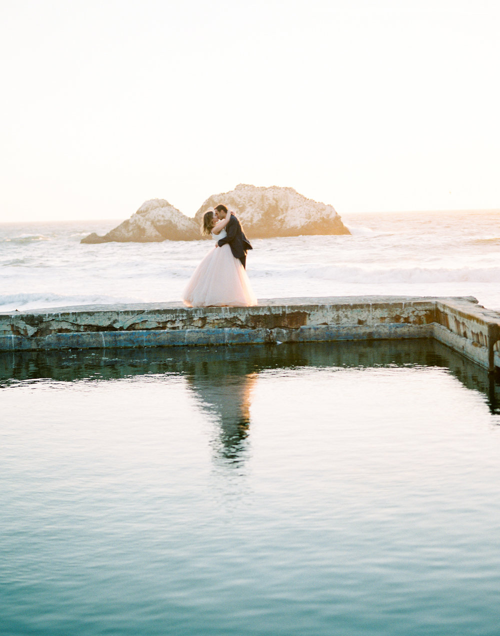 San Francisco Wedding Photography, San Francisco Sutro Baths, Engagement Session, Joy Wed, Elopement Photographer