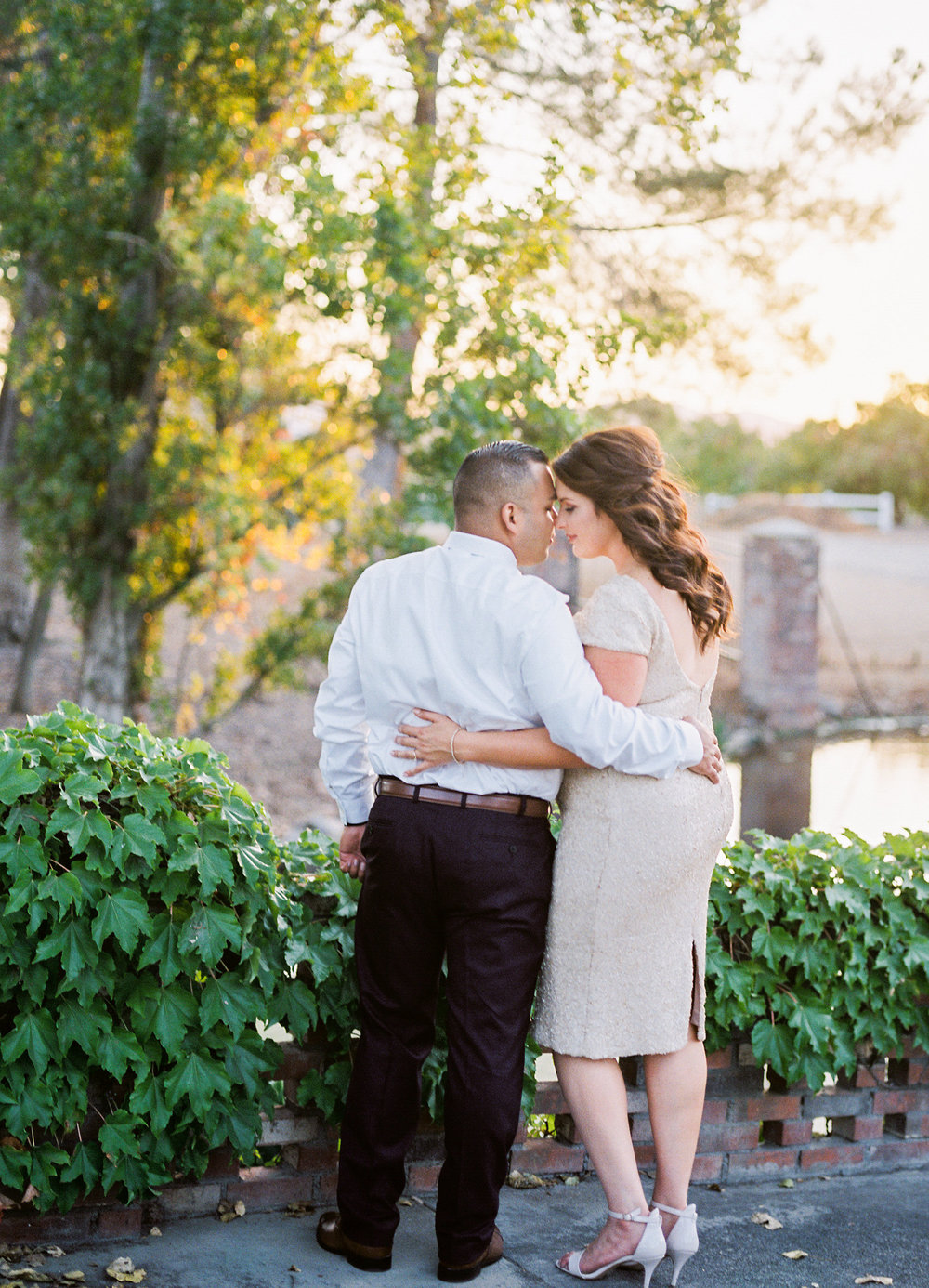 film photographer, engagement session, Southern California wedding photographer