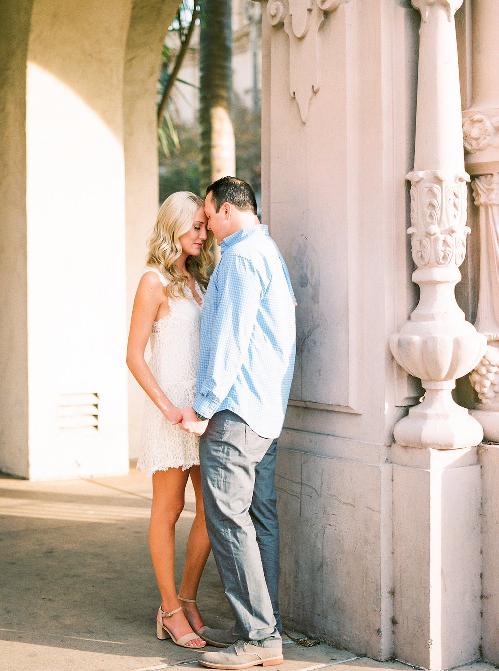 film photographer, engagement session, San Diego wedding photographer