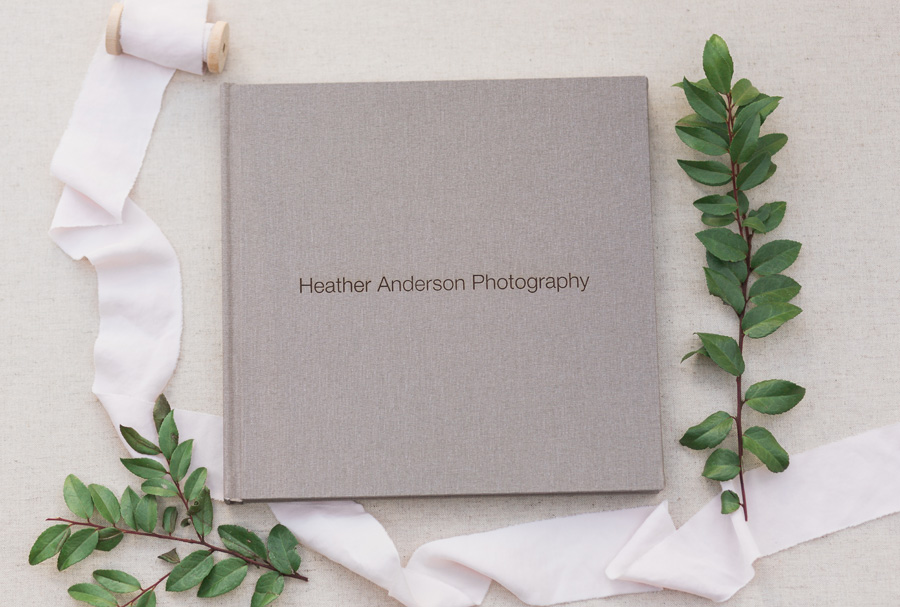 Wedding Album with Align Legacy by Heather Anderson Photography