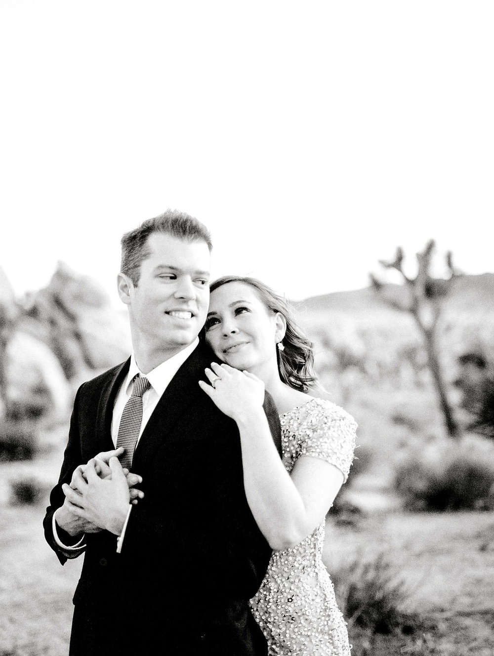 Joshua Tree Engagement Session by Heather Anderson Photography (www.heatherandersonphoto.com).