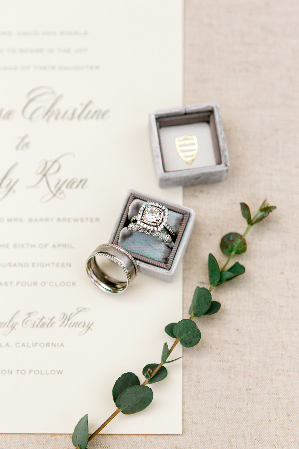 Ponte Winery Wedding by Heather Anderson Photography