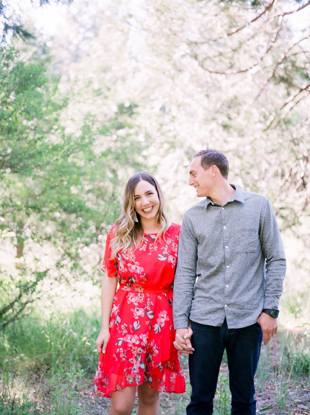 Engagement photography in Lake Arrowhead by Heather Anderson Photography (www.heatherandersonphoto.com).
