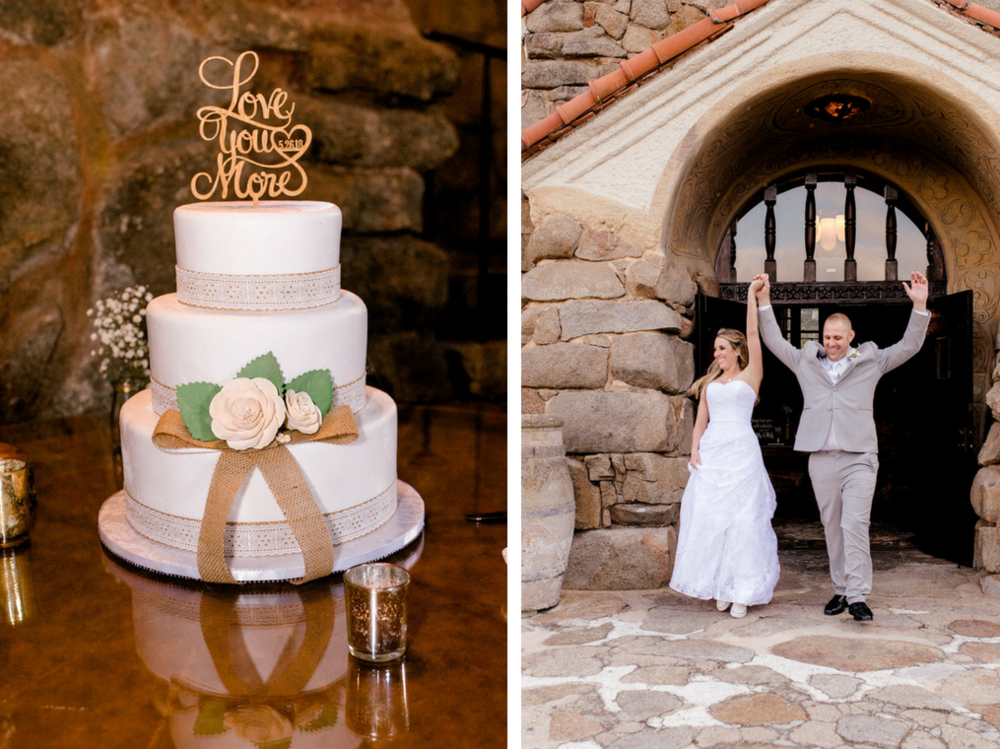 Mount Woodson Castle Wedding, photography by Heather Anderson Photography (www.heatherandersonphoto.com).