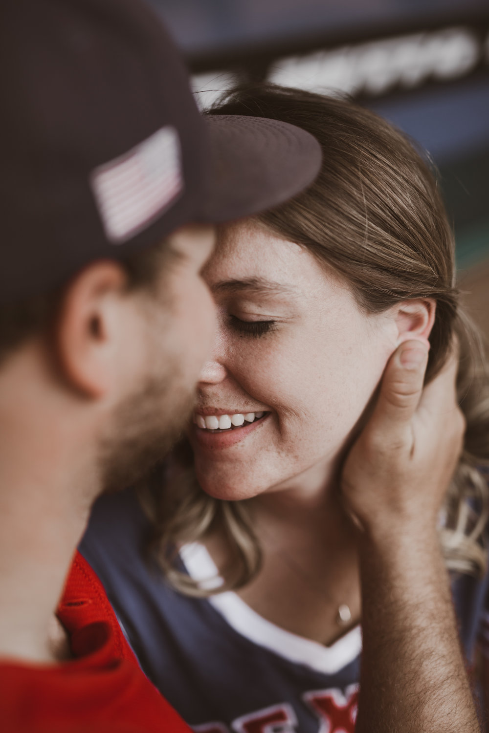 Intimate Engagement Portraits