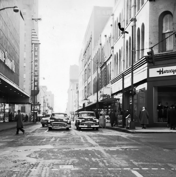 Harvey's Department Store, circa 1940