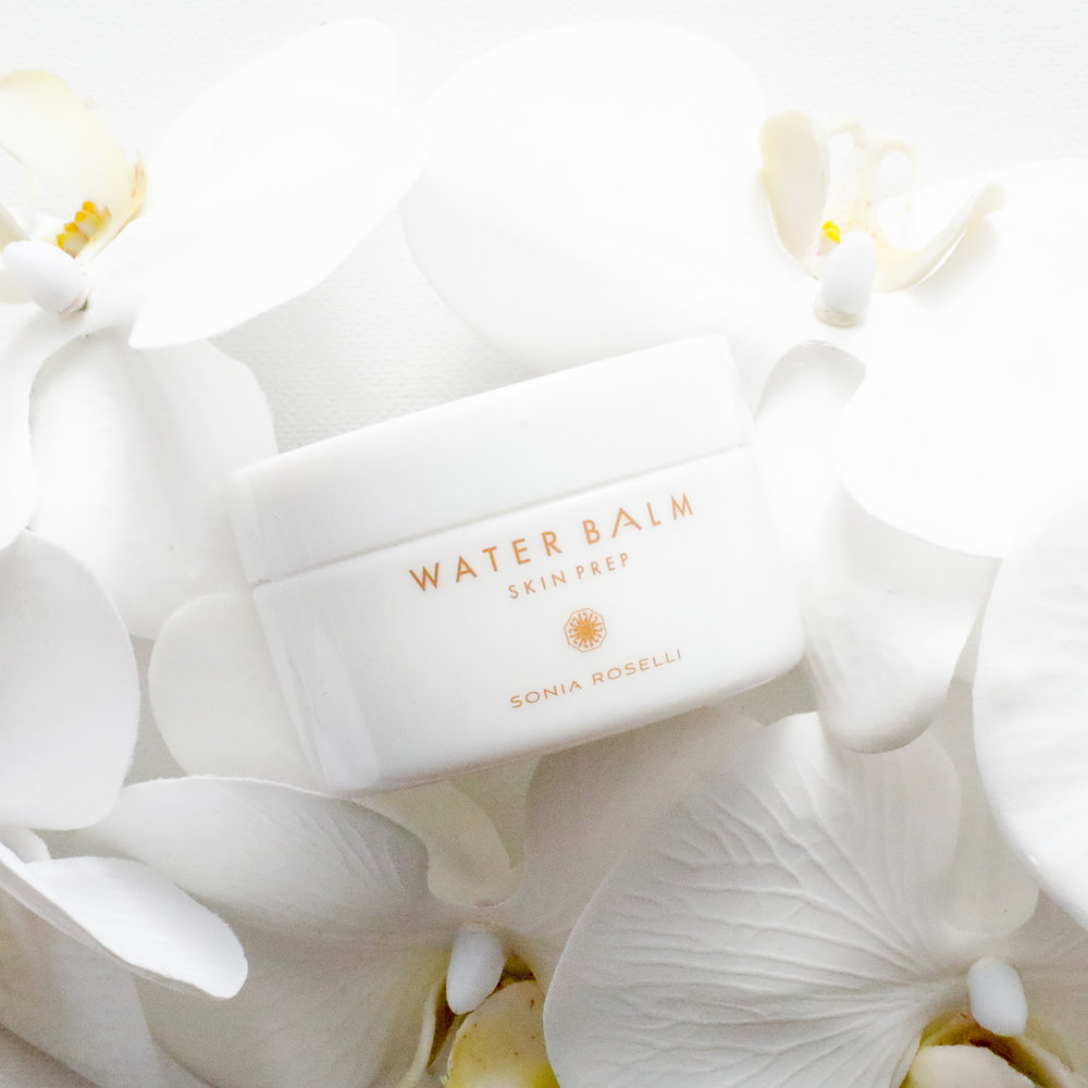 """WATER BALM - $49   Day Cream. Night Cream. Eye Cream. Serum. Toner. Primer. It's all six in one! Hydrate your skin and plump fine lines and wrinkles for hours with Japanese """"Water Bead"""" technology. Follow with sunscreen and makeup for daytime, or call it a night for your nighttime routine. Let your skin drink it in!"""