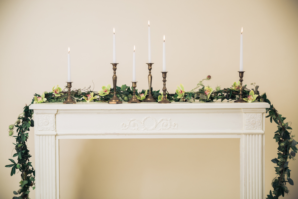 Brass Candlesticks - (6)