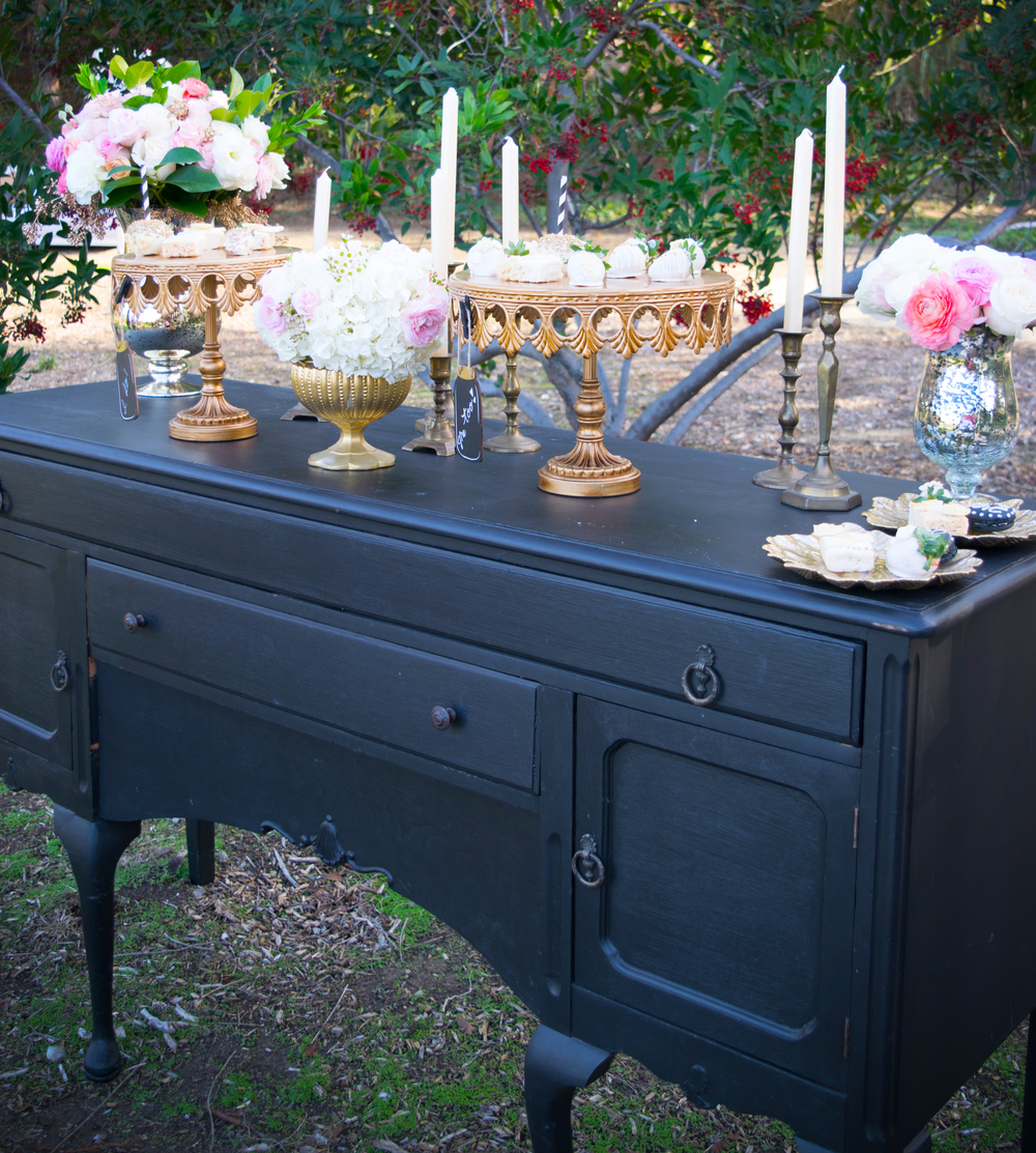 Vintage Table Rentals for Weddings and Parties in Southern California | Party Pieces by Perry