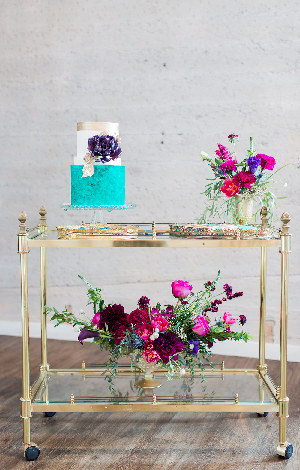Gold Bar Cart - (1)