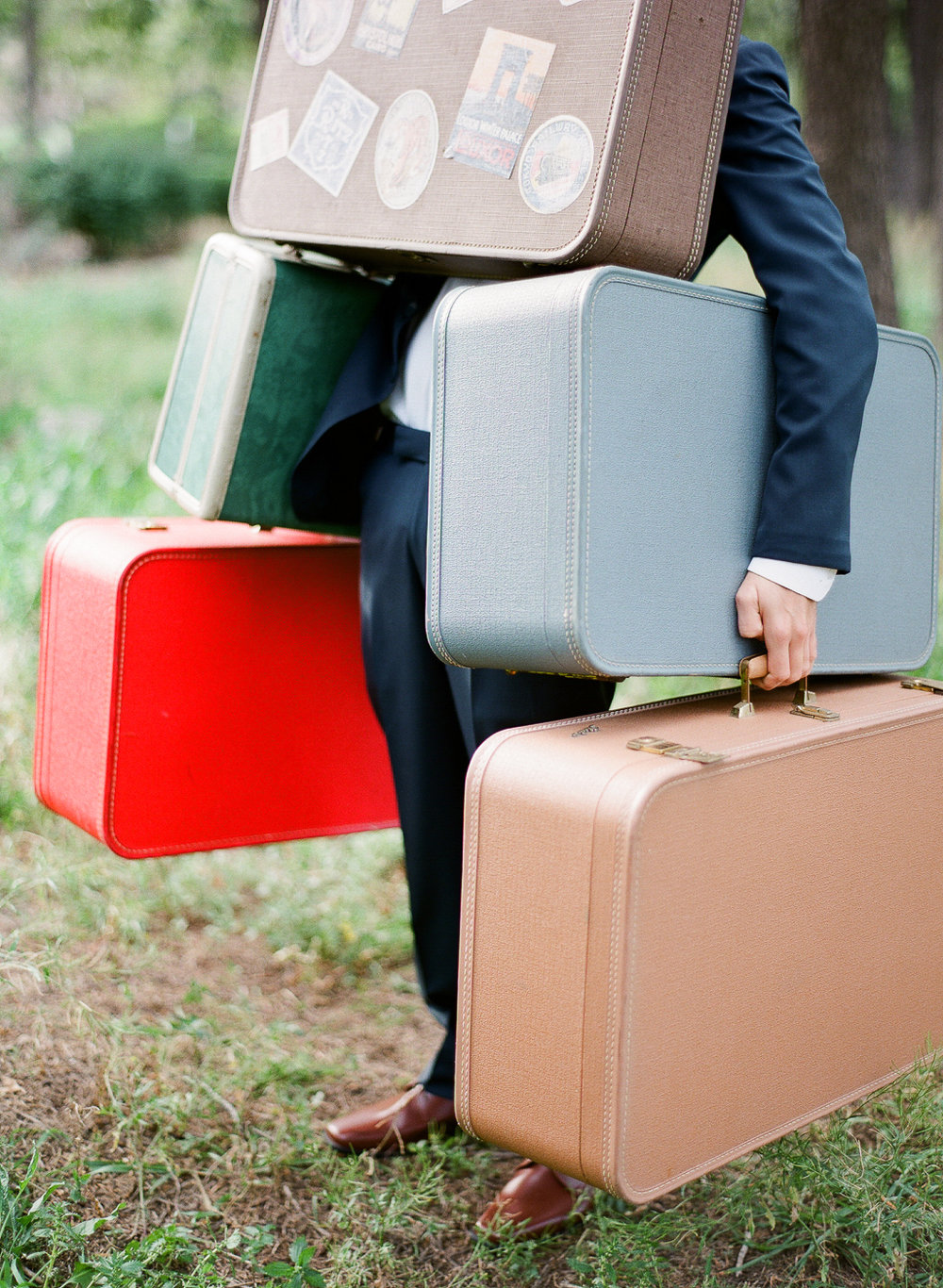 Vintage Suitcases - assorted
