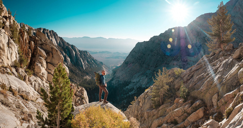 Brian Lipps climbing Thor Peak