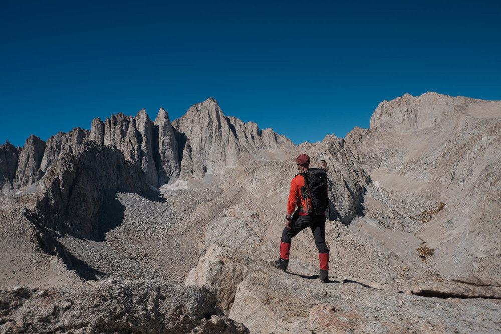 Benny on the Summit of Thor Peak