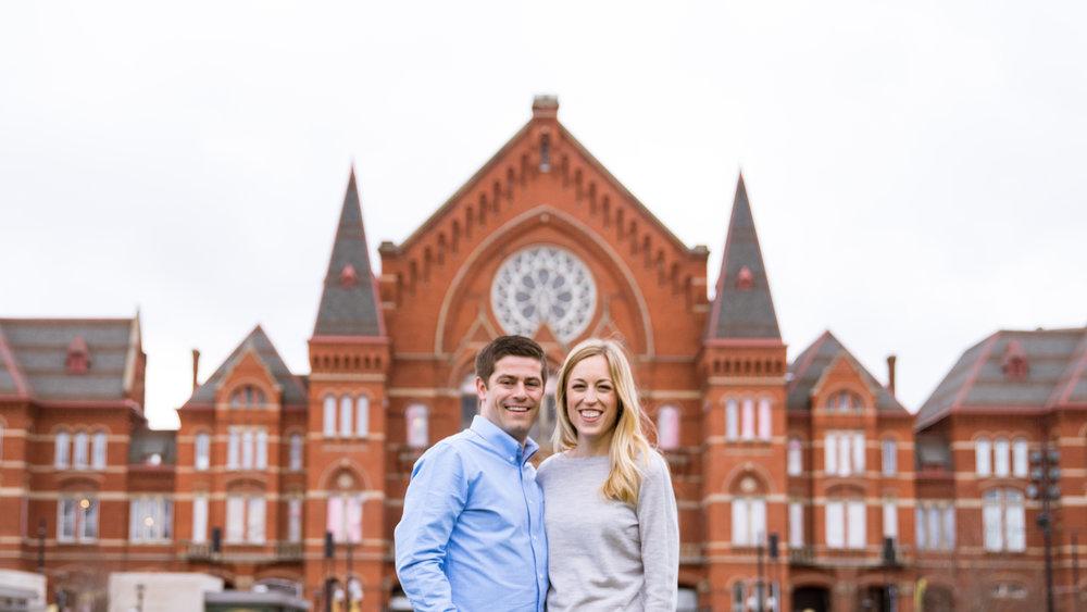 Cincinnati Wedding Photographer | Cincinnati Washington Park Engagement