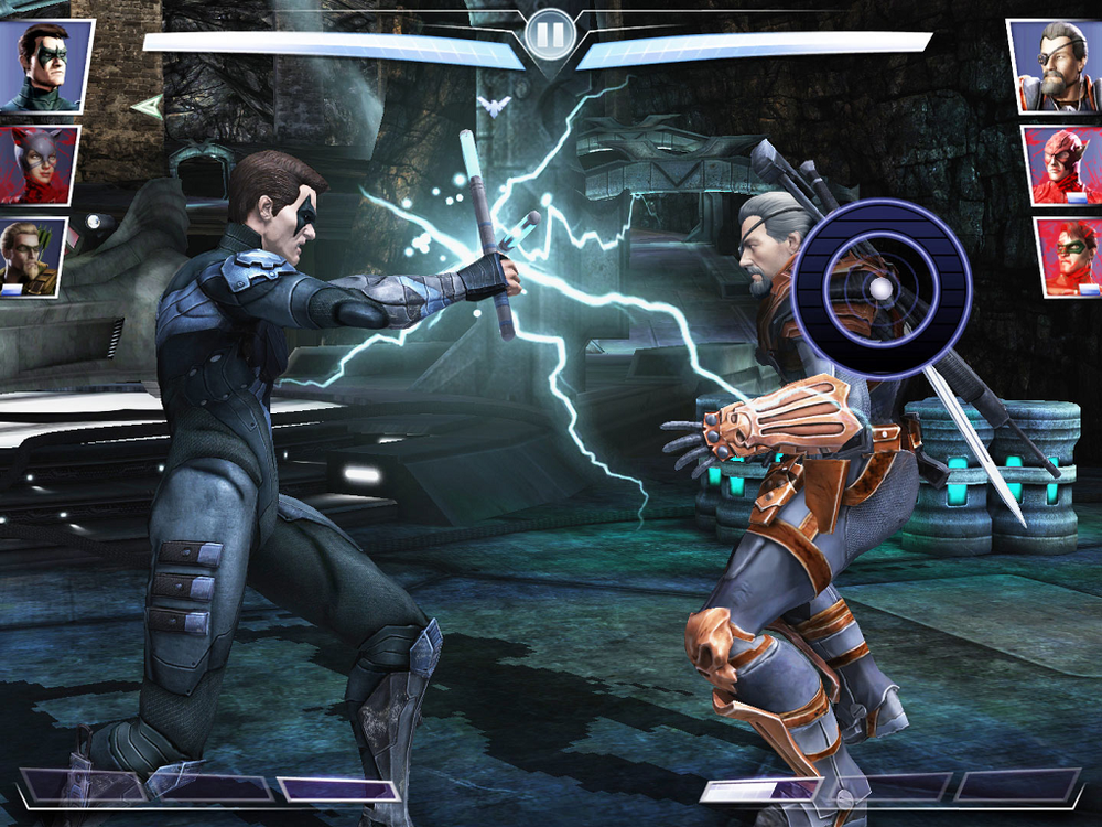 3 vs. 3 combat and on screen controls overcomplicate Injustice: Gods Among Us