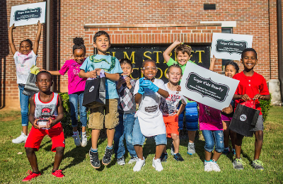 Ashley's first grade students have sold over $10,000 in sugar scrubs in the last two months, all while learning their math and writing competencies and the entrepreneurial spirit!