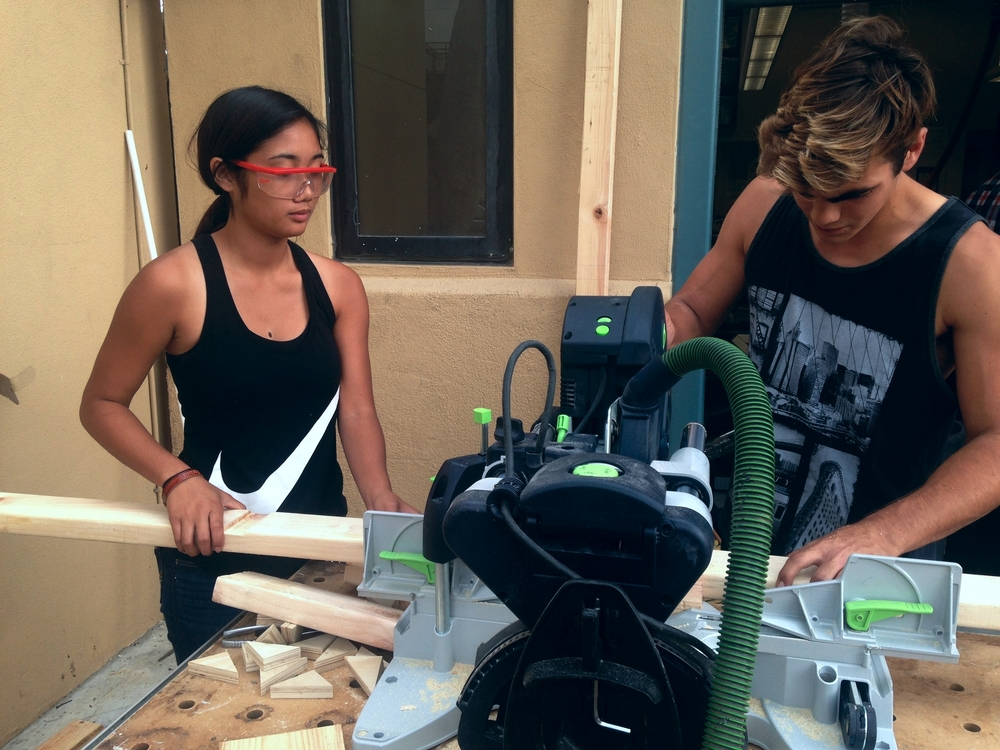 The students of Treehouse 37 are creating high quality furniture and are launching in a community buzzing with custom orders.