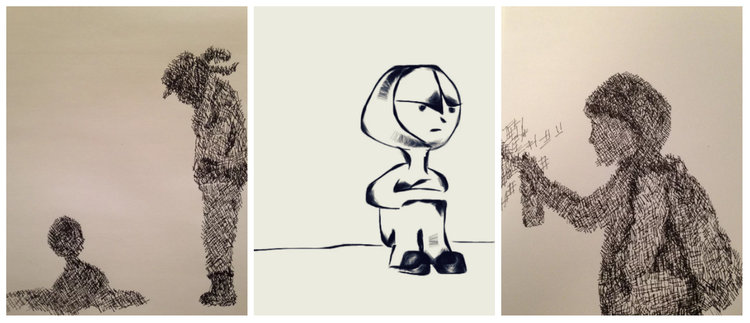 Hand Sketching and Digital Comics/Cartoons