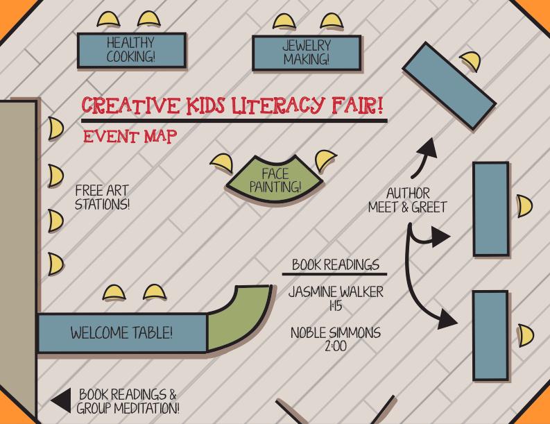 Custom Event and Design Materials
