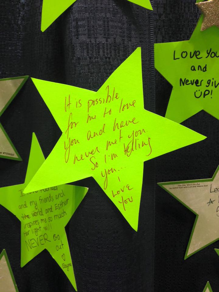Esther Day Star made by Kim Rhodes