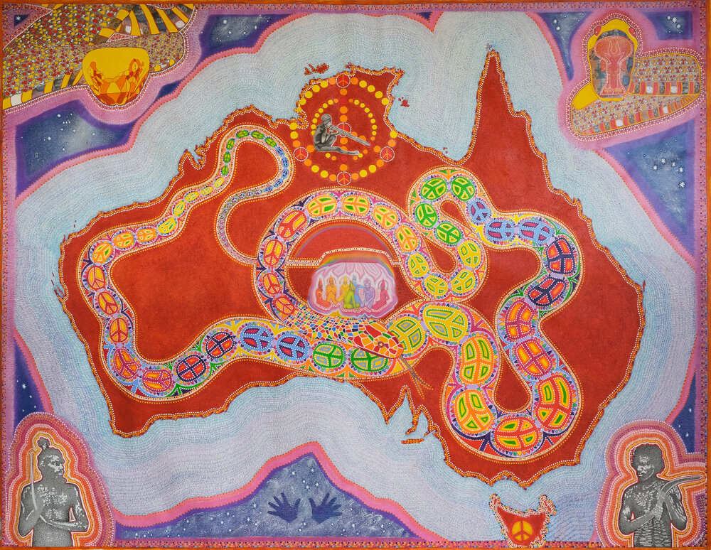 2007 - Rainbow Serpent Dreaming