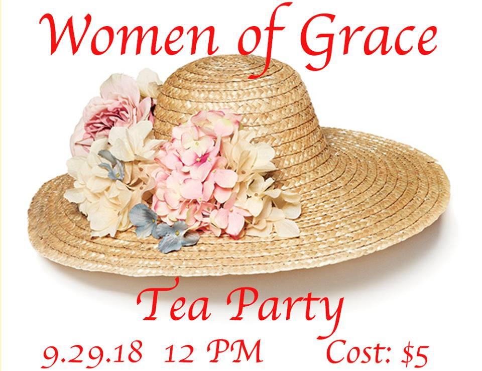 Tea Party Women Aof Grace