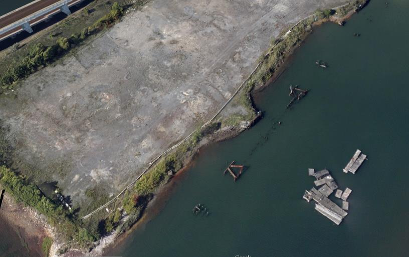 The Brownfield has been vacant since 1983 and is leaching toxins into the Mystic River.