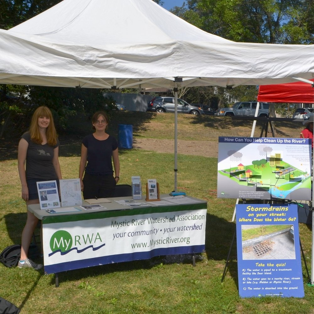 MyRWA performed community outreach about stormwater runoff at local festivals.