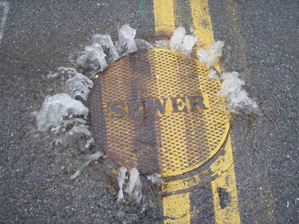 Sanitary Sewer Overflows - or SSOs - are illegal discharges or raw sewage that are often set off during heavy rains because of stormwater infiltrating and overloading the sewage system.