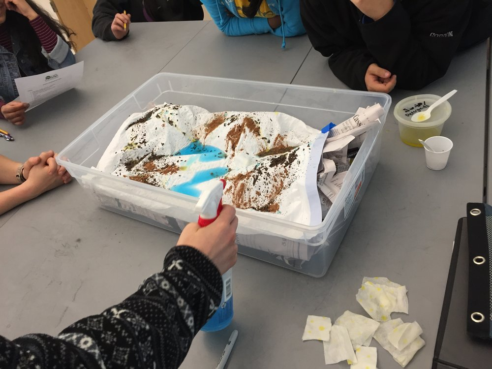Watershed in a box activity