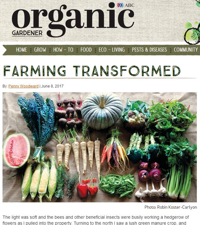 Organic Gardener Magazine 2017