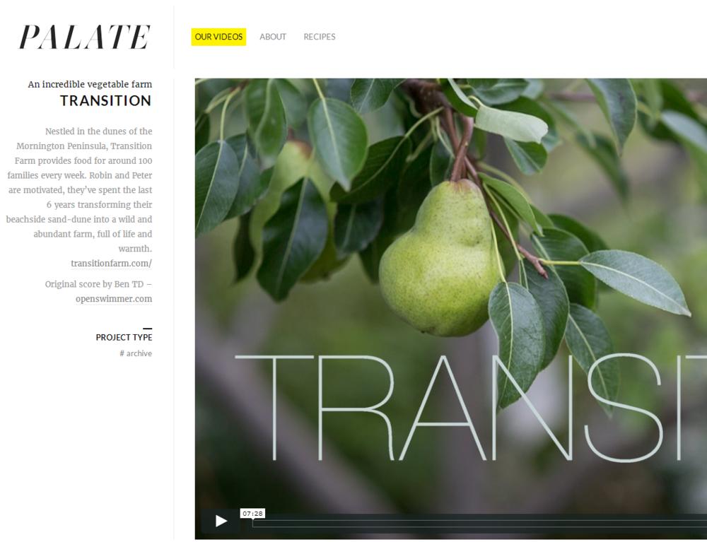 Palate - Short Movie 2014