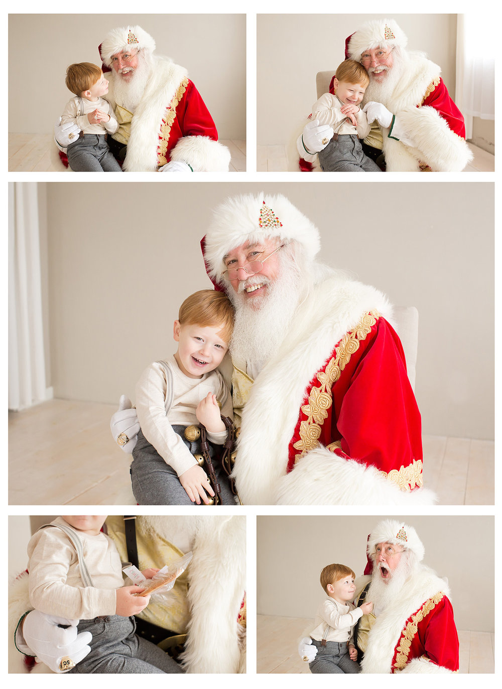 Photos with Santa in Louisville KY | Julie Brock Photography | Best Santa events in Louisville | Louisville Family Photography | Newborn Photographer in Louisville KY