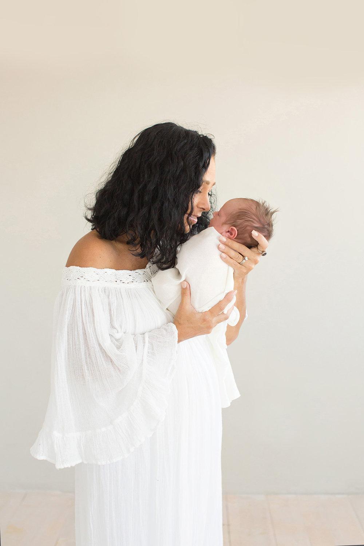 Best Louisville KY Newborn Photographer | Julie Brock Photography | Louisville KY Maternity Photographer | Louisville KY Family Photographer | Louisville KY Photographer | Louisville KY Baby Photographer | Jens Pirate Booty Dress | Newborn posing.jpg