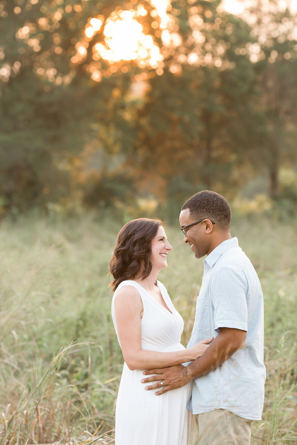 Louisville KY Newborn Photographer | Julie Brock Photography | Top Maternty Photographer Kentucky | Outdoor Photo shoot at Sunset of expectant mom.jpg