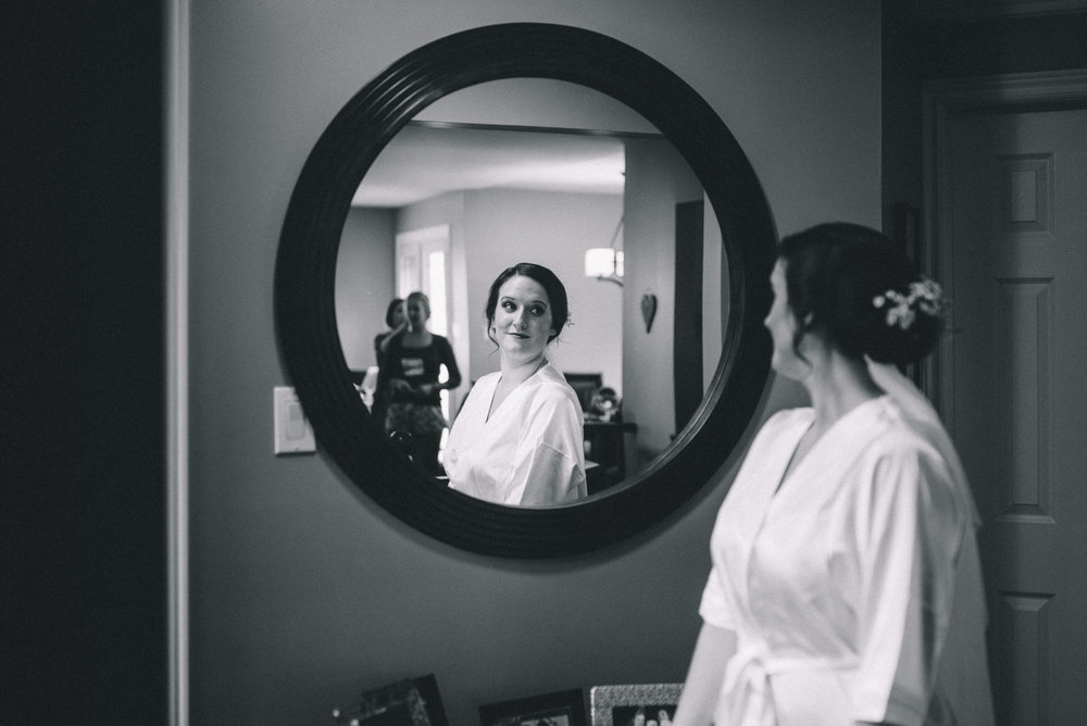 Getting Ready 3 Mocha Tree Studios Ottawa Wedding and Engagement Photographer and Videographer Dark Moody Intimate Authentic Modern Romantic Cinematic Best Candid ALEX + BRIAN: THE MOUNT, PETERBOROUGH, ON