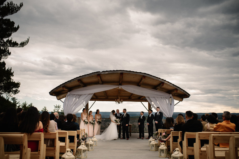Le Belvedere Wedding Ceremony
