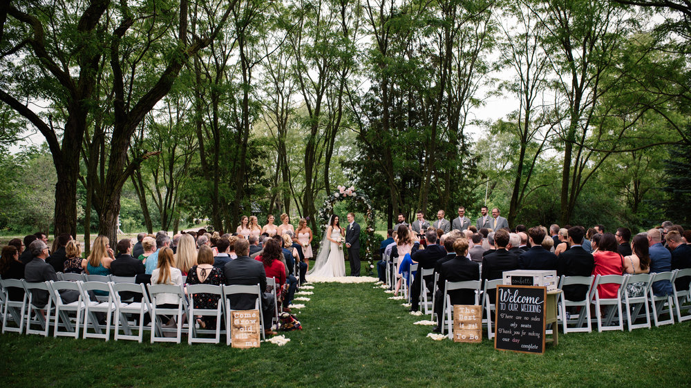 Stonefields Outdoor Ceremony Wedding