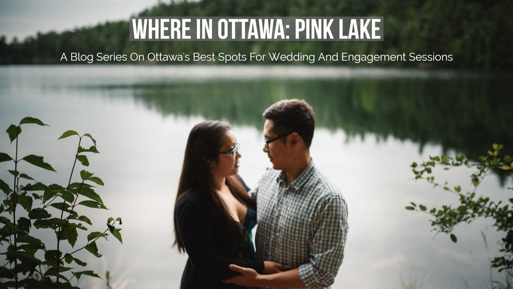 Mocha Tree Studios Ottawa Wedding and Engagement Photographer and Videographer Dark Moody Intimate Authentic Modern Romantic Cinematic Best Candid Pink Lake Engagement