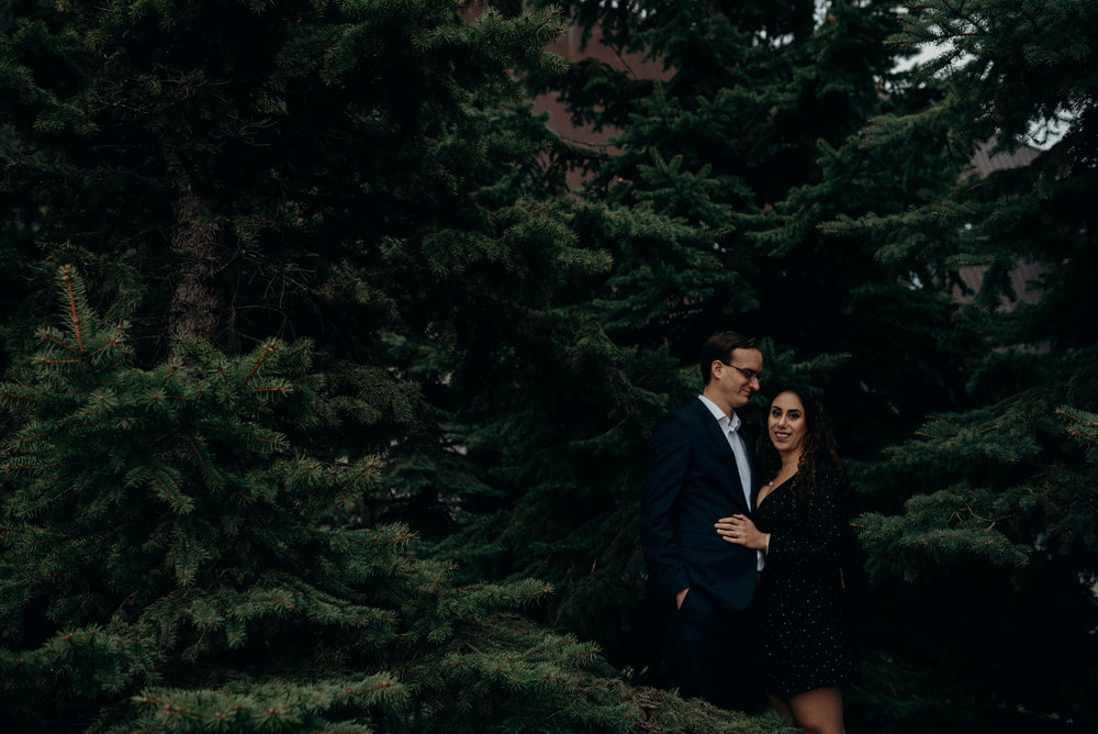 War Museum Engagement Picture Mocha Tree Studios Ottawa Toronto Montreal Wedding and Engagement Photographer and Videographer Dark Moody Intimate Authentic Modern Romantic Cinematic Best Candid 7