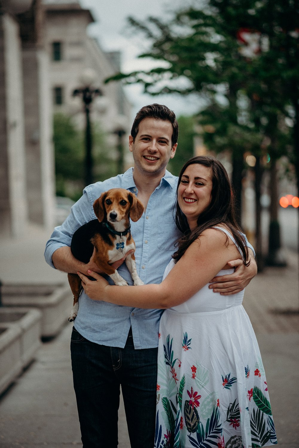 Bringing your Dog or Cat to an engagement session. Mocha Tree Studios Ottawa Toronto Montreal Wedding and Engagement Photographer and Videographer Dark Moody Intimate Authentic Modern Romantic Cinematic Best Candid 3