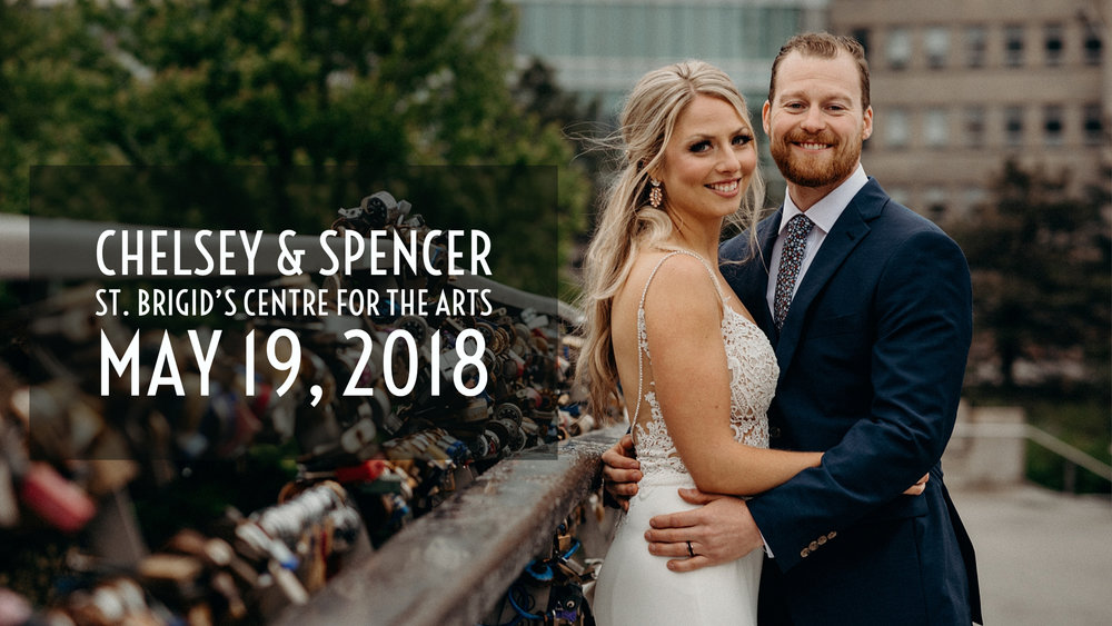 Chelsey and Spencer's Weddings at St. Brigid's Centre for the Arts