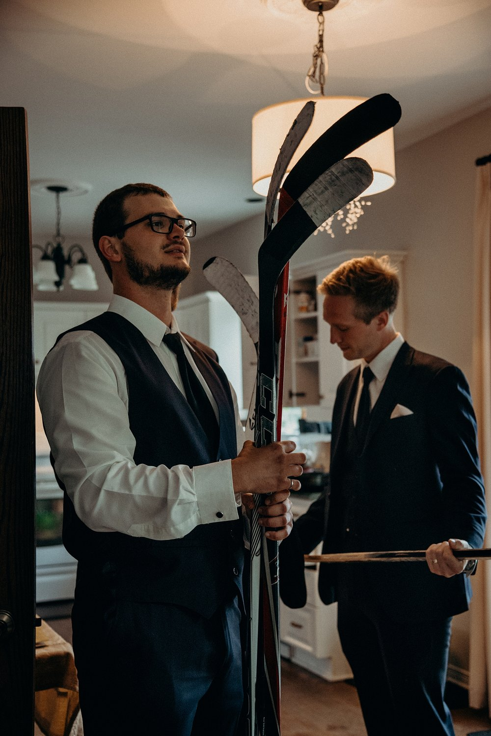 Saunders Farm Wedding Mocha Tree Studios Ottawa Toronto Montreal Wedding and Engagement Photographer and Videographer Dark Moody Intimate Authentic Modern Romantic Cinematic Best Candid Groom Getting Ready 16