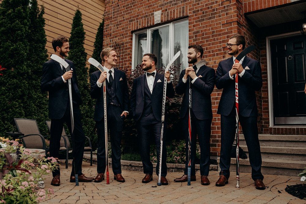Saunders Farm Wedding Mocha Tree Studios Ottawa Toronto Montreal Wedding and Engagement Photographer and Videographer Dark Moody Intimate Authentic Modern Romantic Cinematic Best Candid Groom Getting Ready 17
