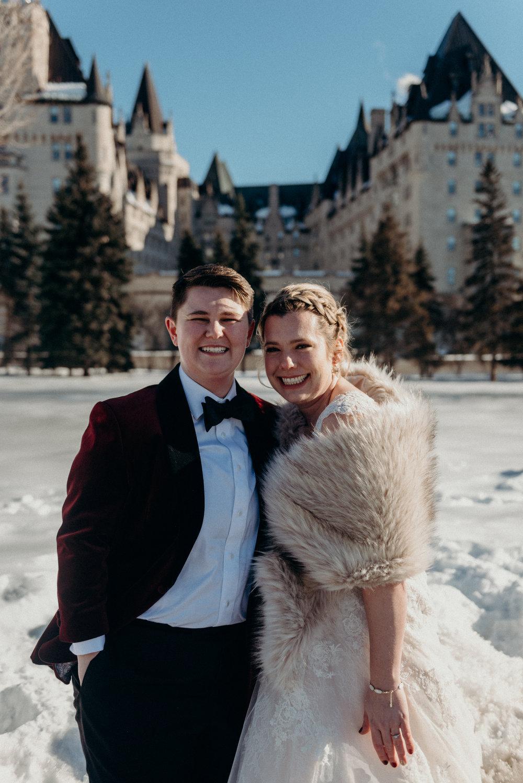 Caleigh and Alex Restaurant 18 Wedding Ottawa 10