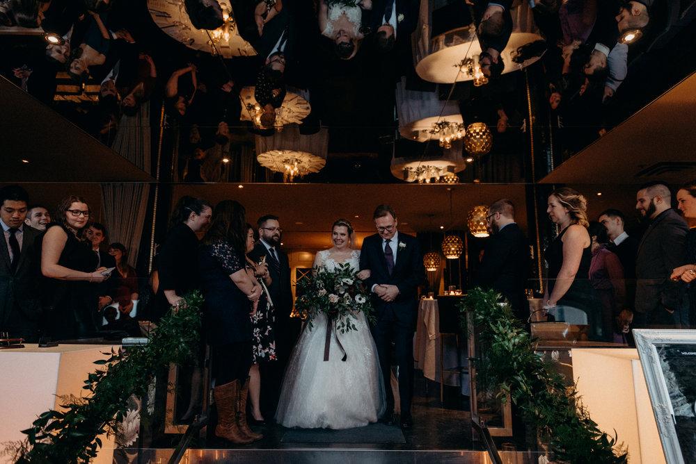 Caleigh and Alex Restaurant 18 Wedding Ottawa 21