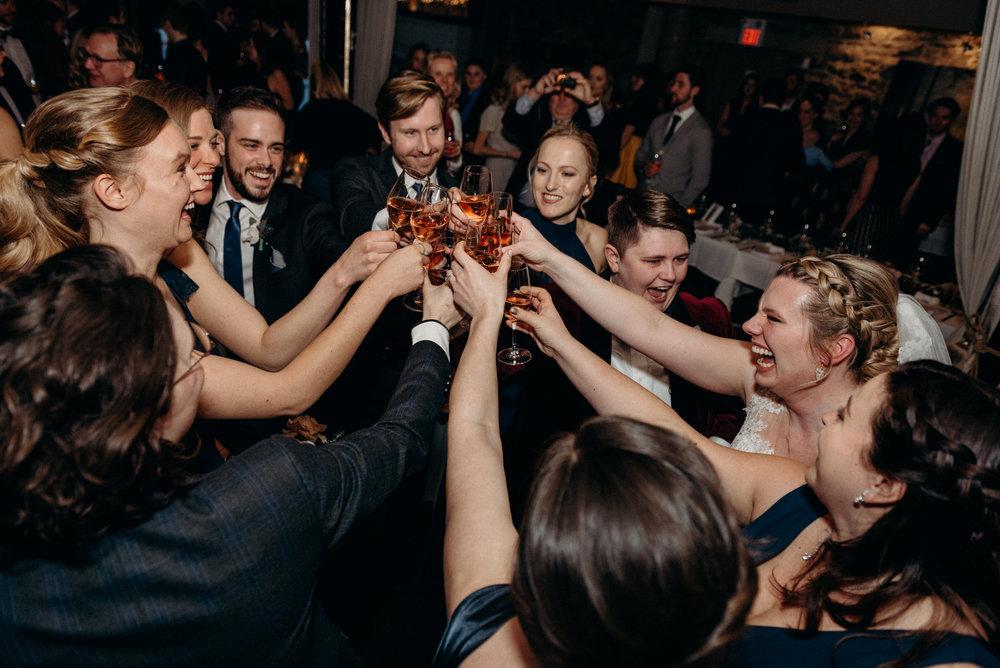 Caleigh and Alex Restaurant 18 Wedding Ottawa 22