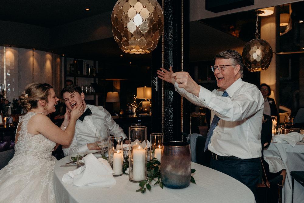 Caleigh and Alex Restaurant 18 Wedding Ottawa 25