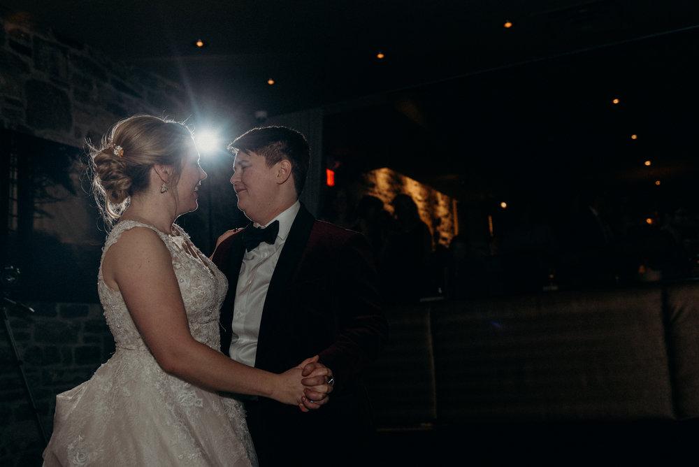 Caleigh and Alex Restaurant 18 Wedding Ottawa 30