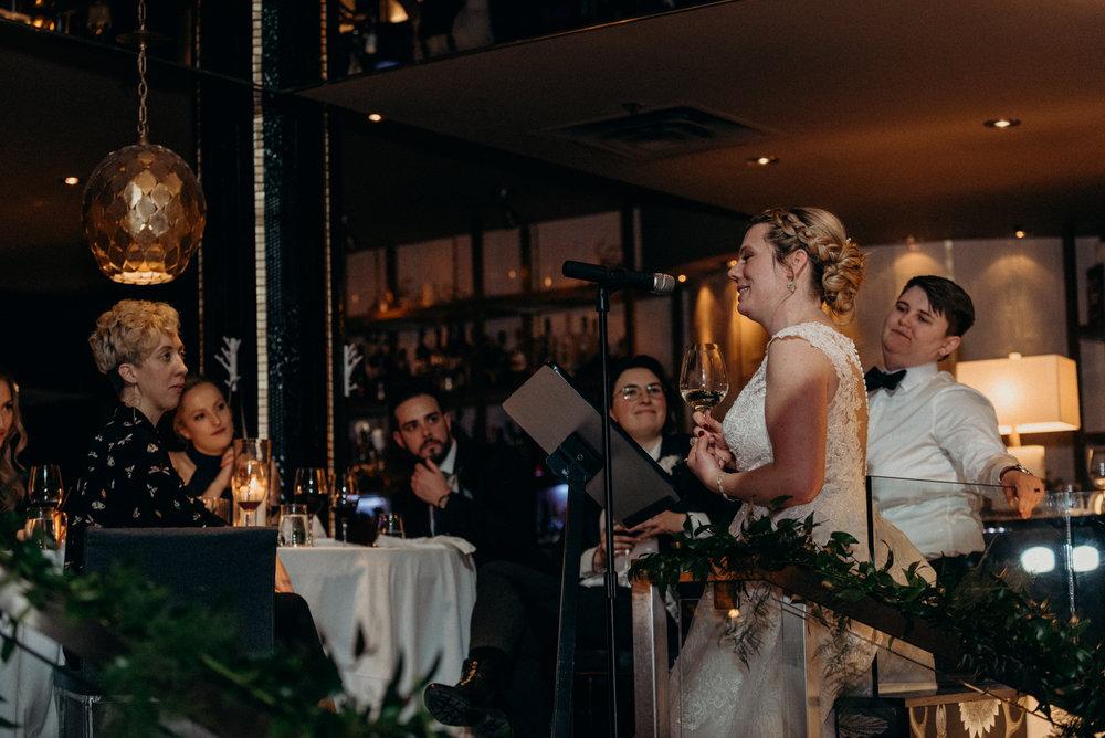 Caleigh and Alex Restaurant 18 Wedding Ottawa 40